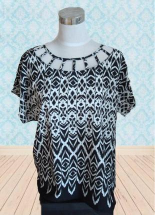 🌼🌼красивая стильная блузка футблка для больших девченок m&co р. 14 🌼🌼🌼
