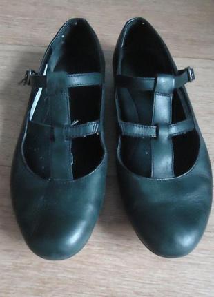 Удобные фирменные туфли балетки clarks, р. 35 код w3566