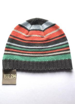 Детская стильная шапочка демисезон, ycc 214, франция, 51