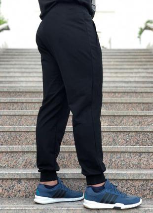 7d8418c1477b Мужские спортивные штаны бренда av sportswear на манжетах. код: № 4-черный