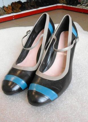 Оригинальные фирменные туфли marks & spencer, р. 39 код k3801