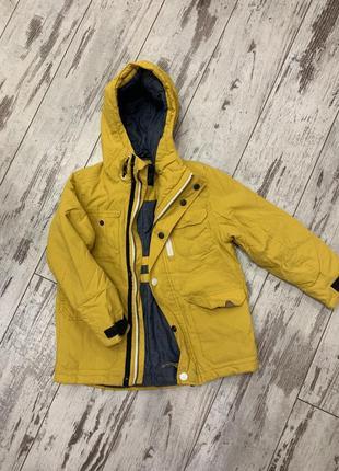 Куртка деми некст красивый жёлтый цает