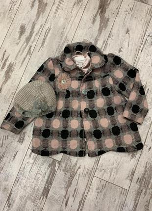 Пальто и шапочка  некст
