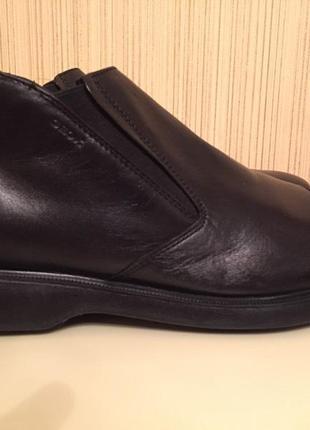 Ботинки мужские geox, новые, кожа, размер 44,5
