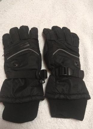 Подростковые лыжные перчатки для мальчика 13-16лет