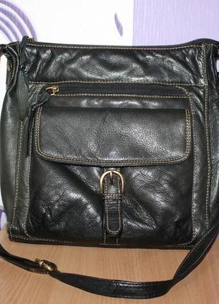 Стильная кожаная сумка индия