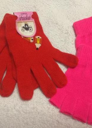 Перчатки для девочки 10-15лет