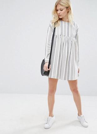 Платье свободного кроя оверсайз  asos