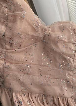 Платье в стразах - молния по спинке -- срочная уценка платьев --8 фото