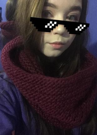 Хамут,шарф