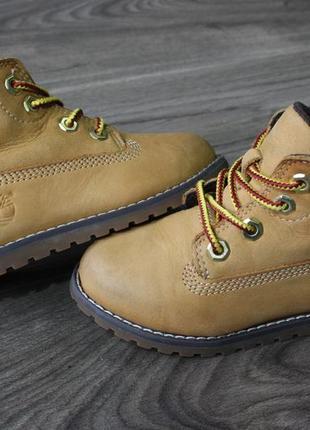 Ботинки timberland оригинал 23 размер натур. кожа