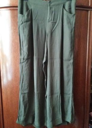 .....летние легкие широкие брюки паллацо-16р-вискоза
