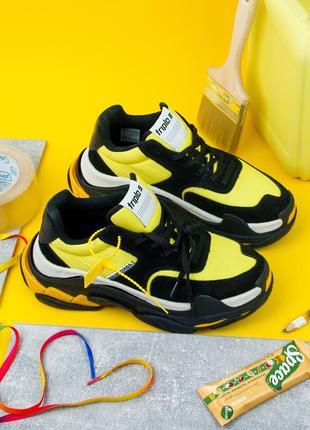 49254606 Желтые кроссовки, женские 2019 - купить недорого вещи в интернет ...