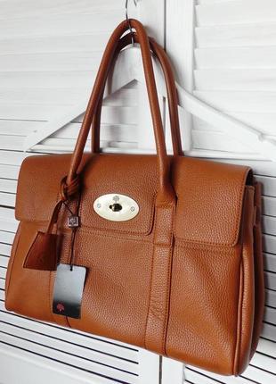 Люкс.роскошная натуральная сумка mulberry ,номерная,оригинал