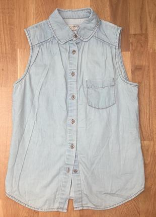 Накидка разлетайка рубашка безрукавка new look