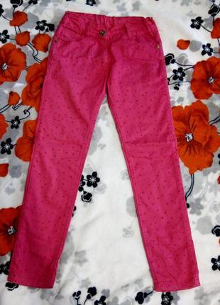Штани джинси на дівчинку 7-9років