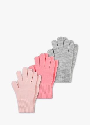 Наборы перчаток тм accessorize, р.104/122 и 128/152.
