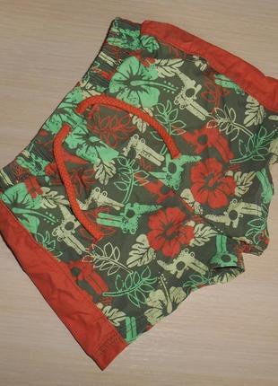 Новые шорты-плавки marks&spencer, 3-6 мес, 62-68 см, оригинал