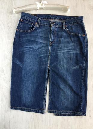 Юбка джинсовая levi's