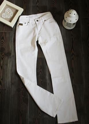Классические белые джинсы прямого кроя оригинал g-star xs/s