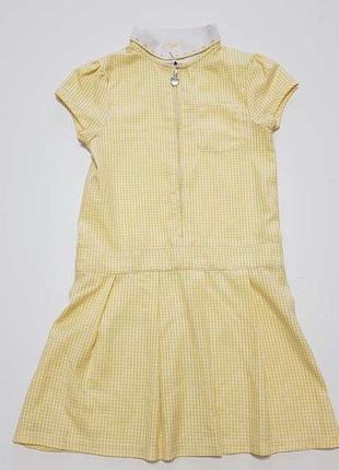 Школьная форма, платье, f&f, на 7-8 лет, сост. отличное! есть 2 шт.
