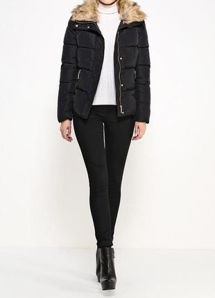 Куртка укороченная с отстегивающимся мехом