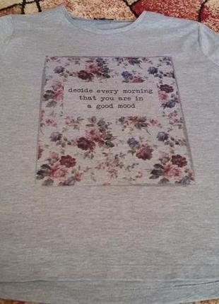 Срочно! цена снижена футболка для беременных или кто любит клешь