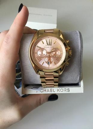 Часы michael kors bradshaw chronograph mk6359