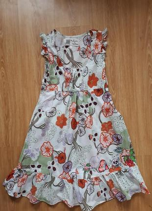 Сарафан сукня з нашивками декоративними