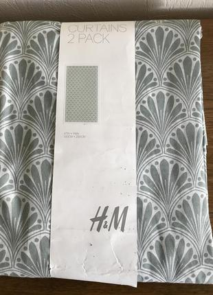 Комплект штор h&m home