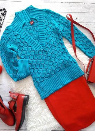 Вязаный свитер, джемпер