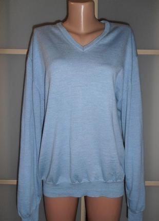 Шерстяной пуловер большого размера 4хл/5хл