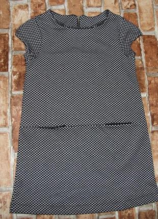 Платье трикотаж 9-10лет зара сток