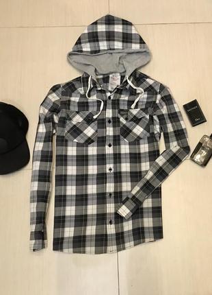 b74a384a990 Мужские рубашки с капюшоном 2019 - купить недорого мужские вещи в ...
