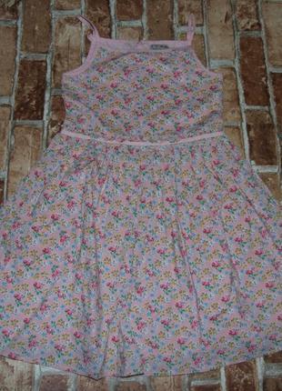Платье хб пышное 9лет некст сток