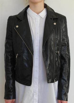 H&m косуха кожаная куртка