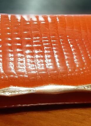 Шикарный кошелек из натуральной кожи известной марки balisa