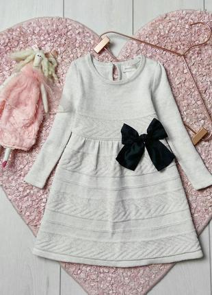✍🏻 вязаное платьице на 2 год