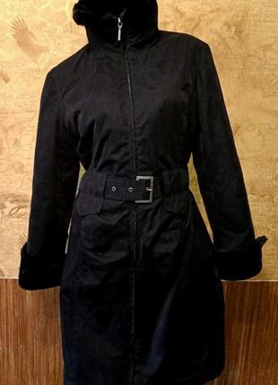 Женское демисезонное пальто фирмы camaieu