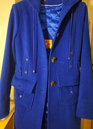 Шикарное пальто от аlberto pantini,пр-во турция.