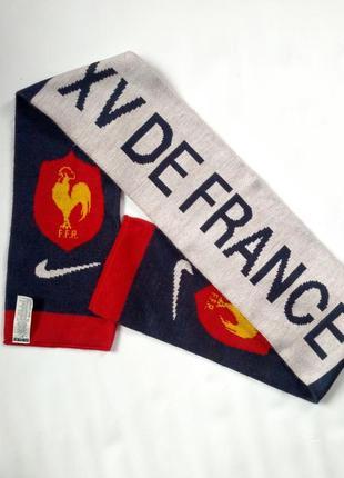 Крутий футбольний шарф nike збірної франції