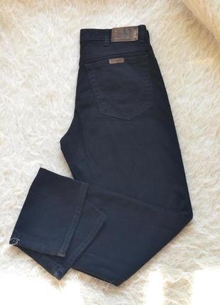 Мужские черные джинсы w32 l34