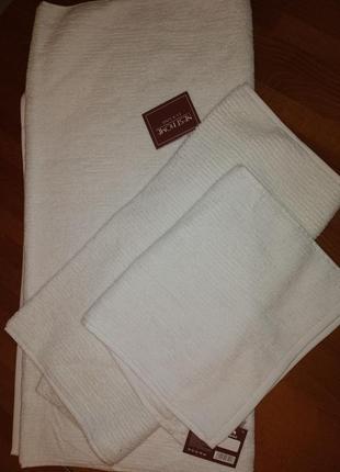 Набор махровых полотенец lux line