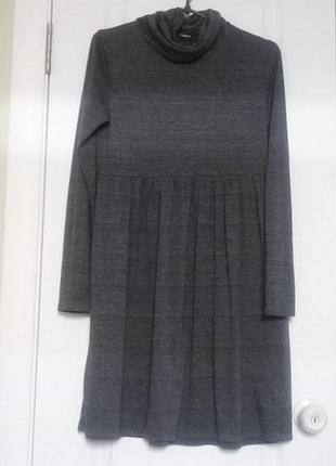 Трикотажное платьице. 12-13лет
