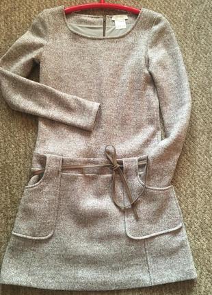 Scervino street платье 100% шерсть/твид премиум бренд