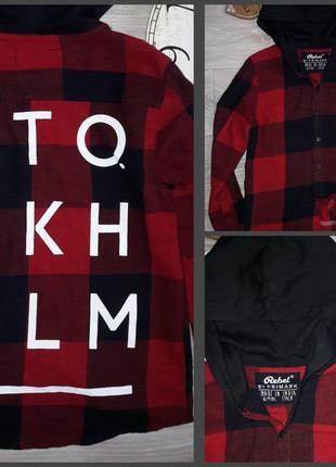 Крутая рубашка rebel 134 см 9 л