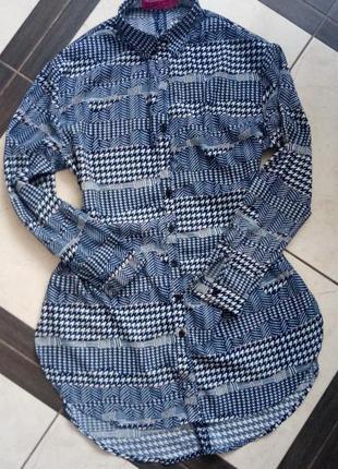 e733bc616cf5e8d Синие рубашки, женские 2019 - купить недорого вещи в интернет ...