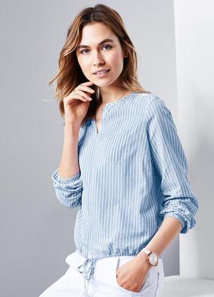 Стильная блуза с декоративной вышивкой тсм чибо германия размер 38 евро, наш 44-46.