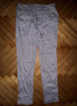 Легкие брюки, лен/вискоза, stefanel! p.-38