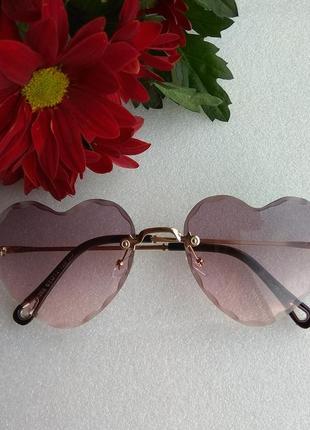 New 2019! новые яркие очки сердечки